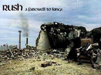 naszywka RUSH - FAREWELL TO KINGS