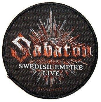 naszywka SABATON - SWEDISH EMPIRE LIVE