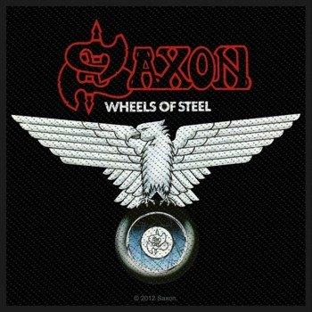 naszywka SAXON - WHEELS OF STEEL