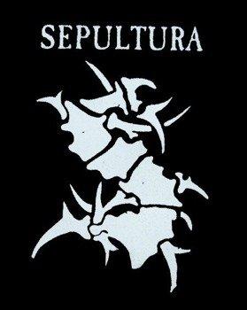 naszywka SEPULTURA - LOGO + SIGN S