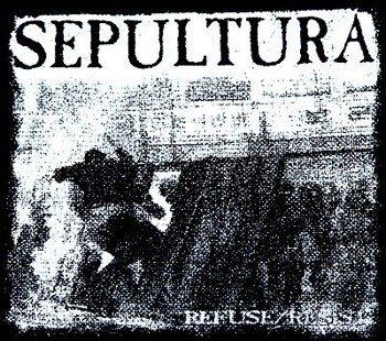 naszywka SEPULTURA REFUSE/RESIST