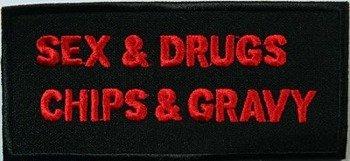 naszywka SEX & DRUGS...