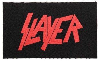 naszywka SLAYER - CLASSIC LOGO RED