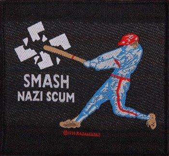 naszywka SMASH NAZI SCUM