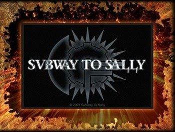 naszywka SUBWAY TO SALLY - LOGO