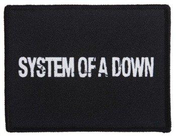 naszywka SYSTEM OF A DOWN - LOGO