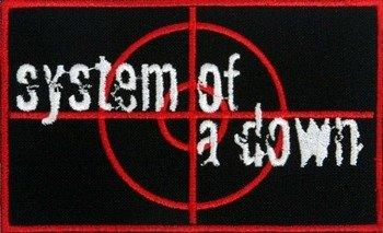 naszywka SYSTEM OF A DOWN - RED LOGO