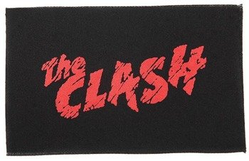 naszywka THE CLASH - LOGO RED