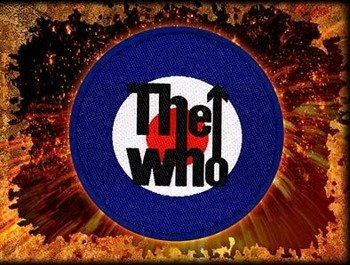 naszywka THE WHO