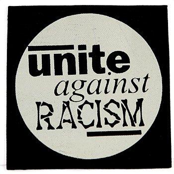 naszywka UNITE AGAINST RACISM