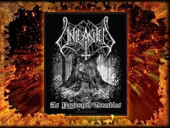 naszywka UNLEASHED - AS YGGDRASIL TREMBLES