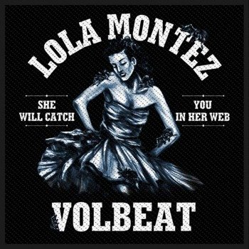 naszywka VOLBEAT - LOLA MONTEZ