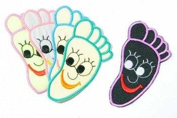 naszywka termiczna FOOT
