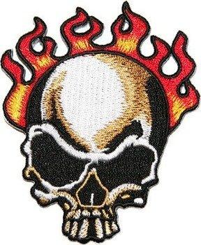 naszywka termiczna TRIBAL FIRE SKULL (EP.169)