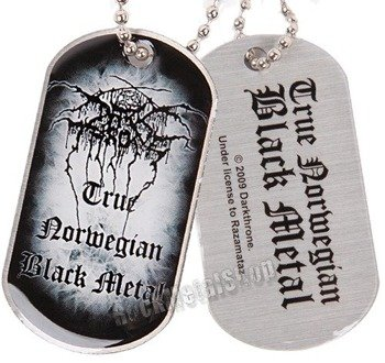 nieśmiertelnik DARKTHRONE - TRUE NORWEGIAN BLACK METAL