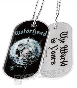 nieśmiertelnik MOTORHEAD - THE WORLD IS YOURS