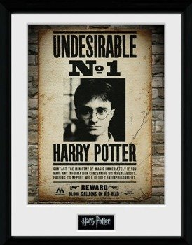 obraz w ramie HARRY POTTER - UNDESIRABLE NO 1