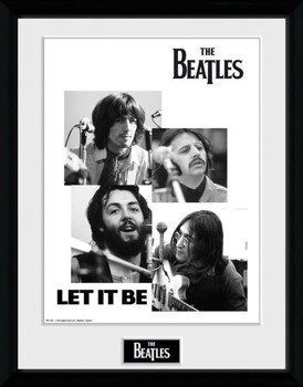 obraz w ramie THE BEATLES - LET IT BE