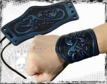 opaska na rękę wiązana 90mm HEAD EAGLE blue