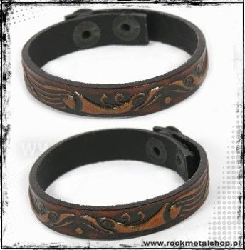 opaska napa 12mm TRIBAL brown