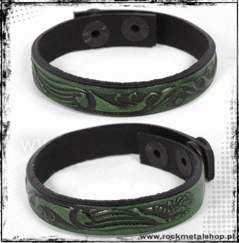 opaska napa 12mm TRIBAL green