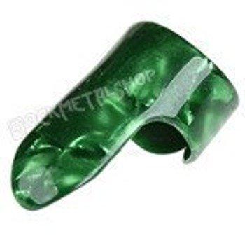 pazurek na palec średni BOSTON TORTOISE / GREEN