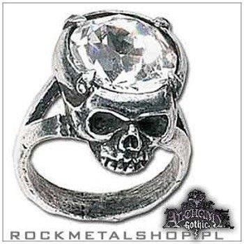 pierścień CRYSTAL HEAD