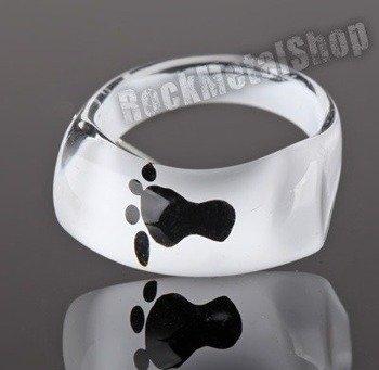 pierścień FOOT biały