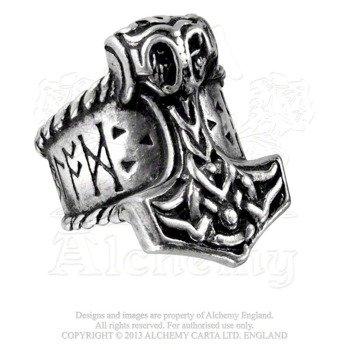 pierścień THOR'S RUNEHAMMER