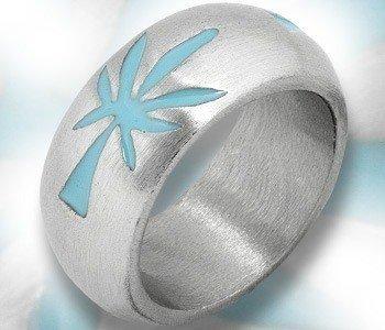 pierścień TRAWKA