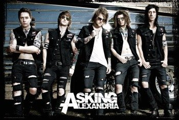 plakat ASKING ALEXANDRIA -  BUS