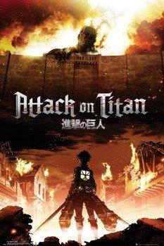 plakat ATTACK ON TITAN - KEY ART