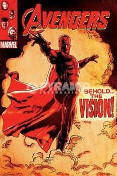 plakat AVENGERS - AGE OF ULTRON (BEHOLD THE VISION)
