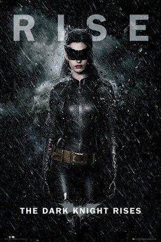 plakat BATMAN THE DARK KNIGHT RISES - CATWOMAN RISE