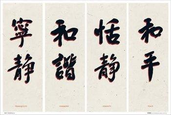 plakat CHINESE WRITING
