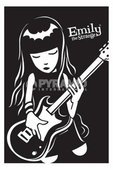plakat EMILY THE STRANGE - GUITAR