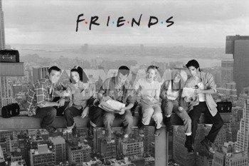 plakat FRIENDS (LUNCH ON A SKYCRAPER)