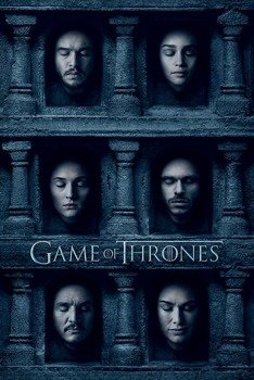 plakat GAME OF THRONES - HALL OF FACES