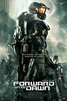 plakat HALO 4 - FORWARD UNTO DAWN