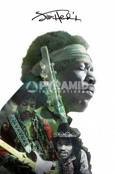 plakat JIMI HENDRIX - DOUBLE EXPOSURE