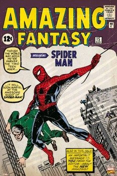 plakat MARVEL COMICS SPIDERMAN