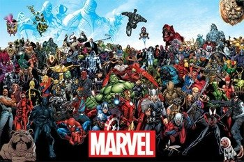 plakat MARVEL - UNIVERSE
