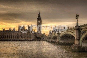 plakat ROD EDWARDS - AUTUMN SKIES, LONDON