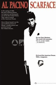 plakat SCARFACE - MOVIE SHEET