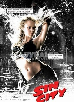 plakat SIN CITY (NANCY)