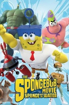 plakat SPONGEBOB THE MOVIE - CHARACTERS