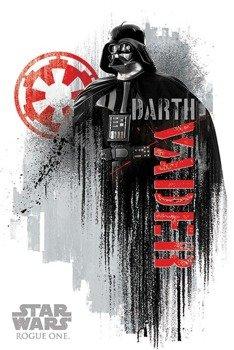 plakat STAR WARS - DARTH VADER GRUNGE