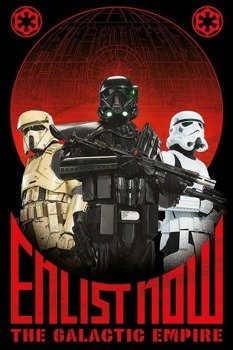 plakat STAR WARS - ENLIST NOW