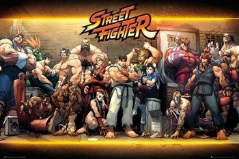 plakat STREET FIGHTER - CHARACTERS