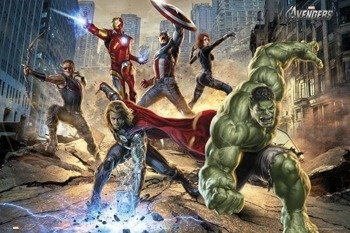 plakat THE AVENGERS - STRIKE